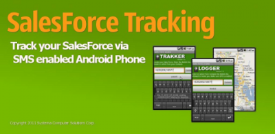 Sales Force Tracking Android App