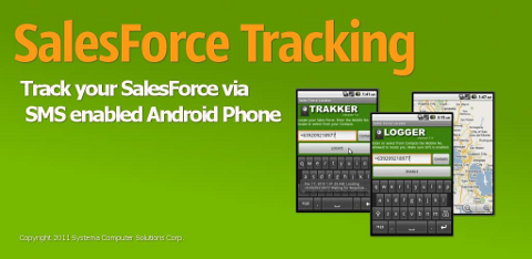 s y s t e m a sales force tracking android app